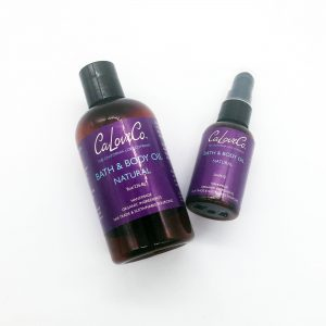 8oz and 2oz natural bath and body oil