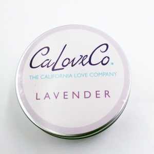8oz lavender whipped body butter top view