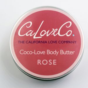 8OZ ROSE whipped body butter TOP VIEW