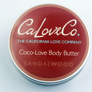 8oz sandalwood whipped body butter top view
